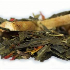 Golden Starfruit Sencha Green Tea