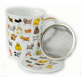Dog Mug and Infuser