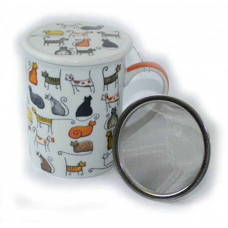Cat Mug and Infuser