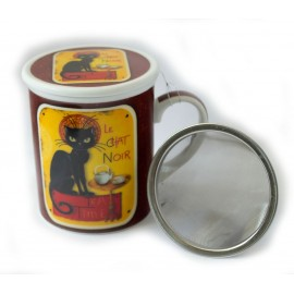 Le Chat Noir Mug and Infuser