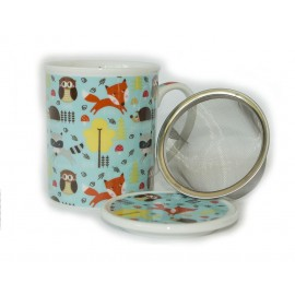 Woodland Friends Mug And Infuser