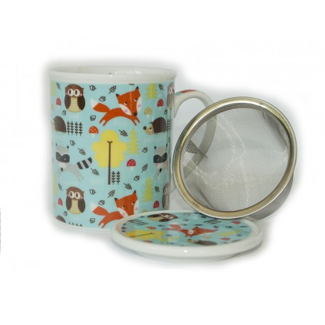 Happy Forest Mug And Infuser