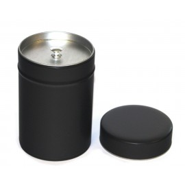 Matt Black Tea Caddy 150g