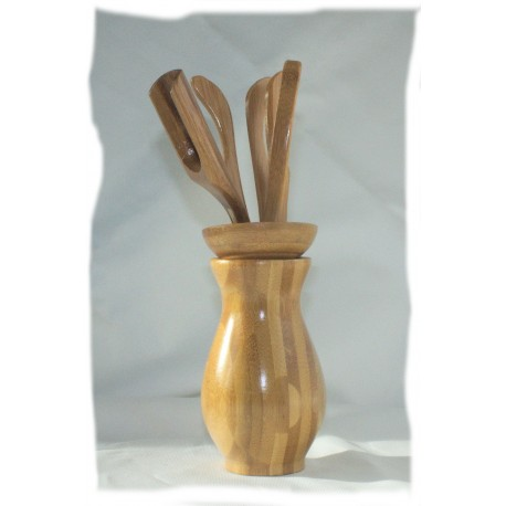 Bamboo Cha Do Utensil Set