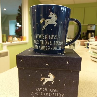 Birthday Giveaway Day Five: Boxed Unicorn Mugs