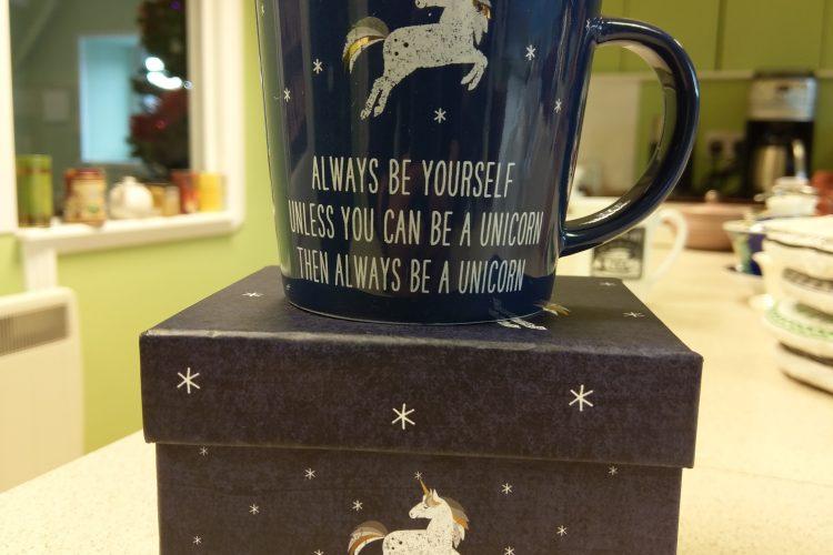 Birthday Giveaway Day Five: Boxed Unicorn Mugs